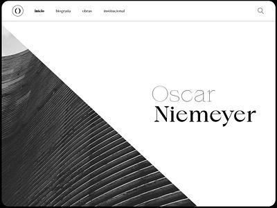 Niemeyer, concept. web ui typography type product design niemeyer minimal logo flat design concept branding