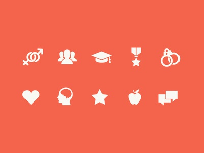 Catharsis Blog Icons icon set categories blog minimal launchpad lab icons
