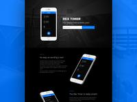 Rex Timer Landing Page
