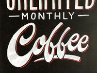 Patent Coffee Chalkboard
