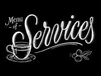 Menu of Services Title