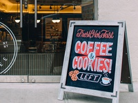 Patent Coffee Chalkboard #2