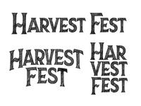 Harvest Fest Concept