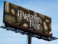 Harvest Fest Billboard