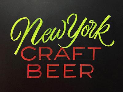 New York Craft Beer ny craft beer new york craft beer chalk type chalkboard lettering chalkboard chalk