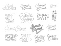 Sweet Cloud Ice Cream Sketches