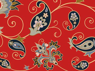 Paisley Pattern ornament vintage illustration pattern paisley