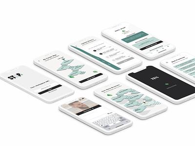 Retail Talent Development App uxdesign mockup ux ui design app