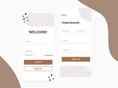 Sign Up Page(Dailyui 001) 001 dailyui dailyui 001 ui ux design app