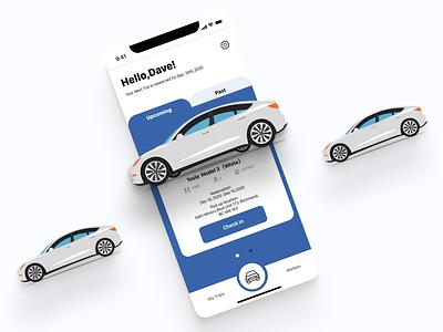 UI 006 (Profile) carservice car profile profile page design uxdesign dailyui006 dailyuichallenge ui carrental dailyui