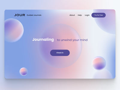 Landing Page Design adobe illustrator graphic design dailyui design landingpagedesign webdesign ui