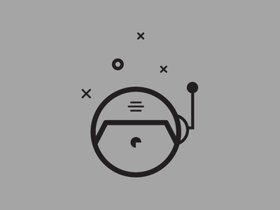New Logo space suit logo branding portfolio illustration stroke outline austronaut