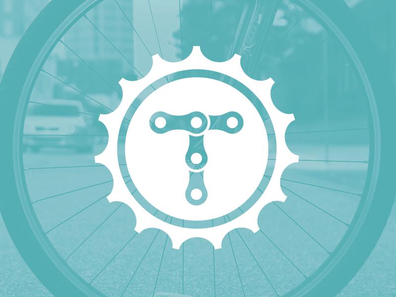 Tampa BayCycle branding logo bicycle biking community mega inc mega tampa