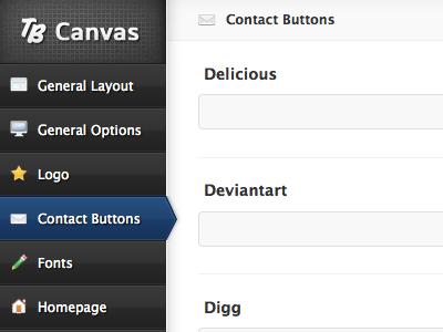 TB Canvas WP Theme Framework wordpress web design