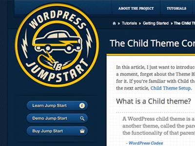 Jump Start Site themeblvd wordpress themeforest