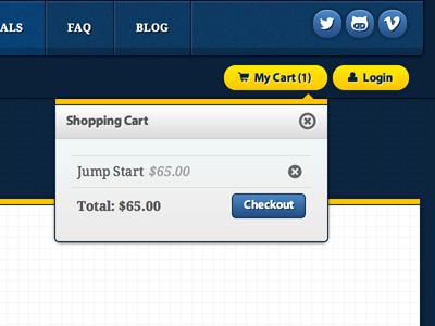 Ajax EDD floating shopping cart edd cart jumpstart