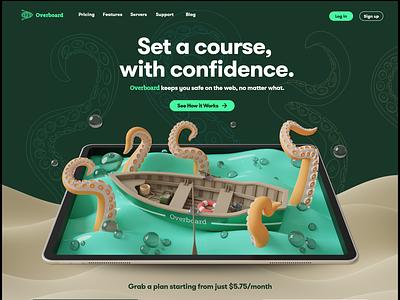 Overboard web design