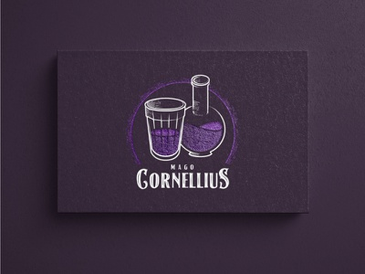 Mago Cornellius - Experimental branding project illustration illustrator icon typography vector branding logo design