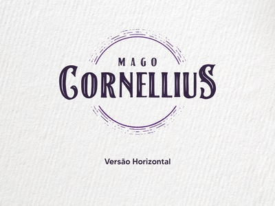 Mago Cornellius - Experimental branding project vector typography logo illustrator illustration icon design branding