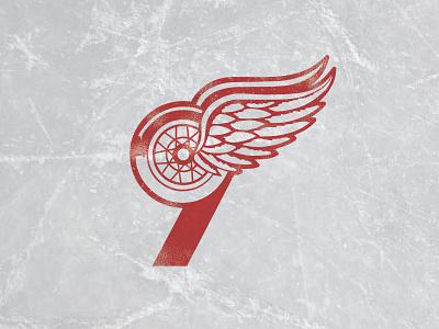 Goodbye Gordie mr. hockey gordie howe red wings hockey 9 illustration detroit
