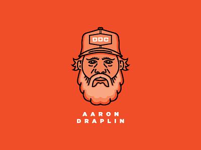 Draplin tonight aaron draplin vector illustration draplin ddc sticker offset line