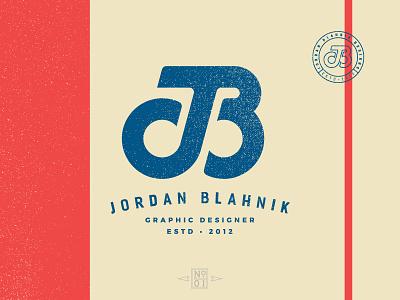 JB Monogram logo-mark logo-mark identity lettering illustration brand logo monogram