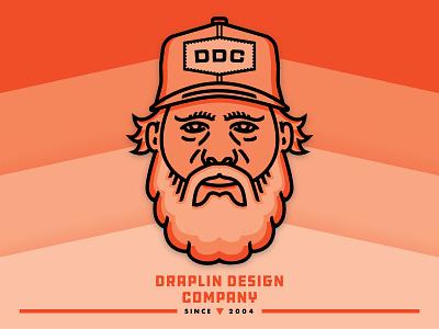 Gettin' Published! draplin design company thick lines aaron draplin portrait offset ddc draplin illustration