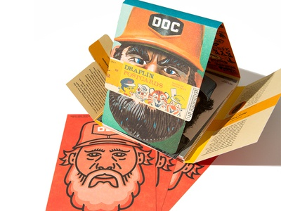 Draplin Illustration series adobe max adobe collaboration paper portrait thick lines illustration draplin csa design french paper co