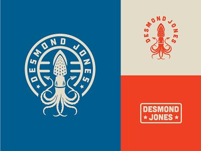 Desmond Jones Final Options desmond jones patch music band illustration squid brand