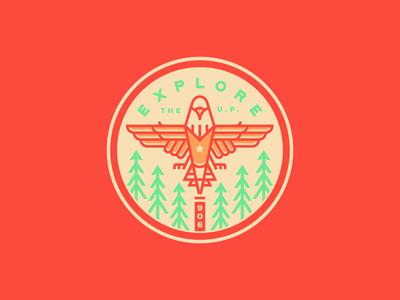Eagle sticker