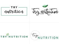 Nutritionist Logo Design Concepts