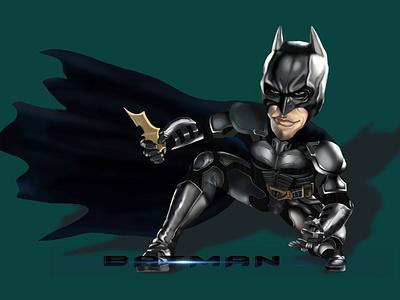 BATMAN #1 : The Dark Knight Rises design illustration art photoshop the dark knight art batman dc comic caricature illustration
