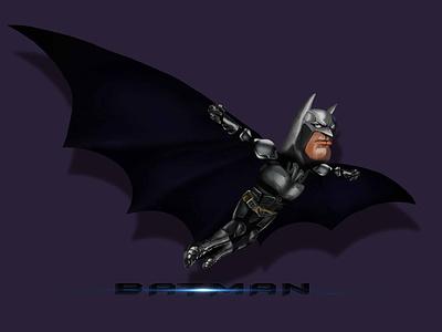 BATMAN #2 : The Dark Knight Rises dc comic design illustration art caricature art photoshop the dark knight batman illustration