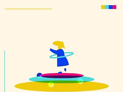 Kids new face - 02 flat design art illustration illustration art face friends young cheerful boy little girl fun childhood