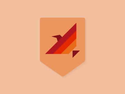 birdshield logo bird identity logo