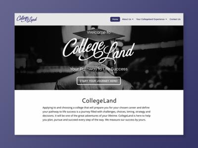 Collegeland responsive web