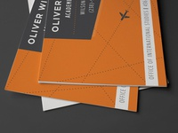 Study Abroad Business Cards