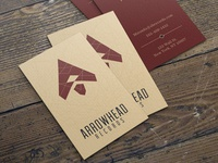 Arrowhead Records Business Cards