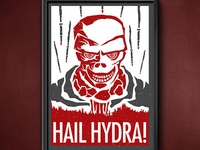 Screen print Hydra Poster