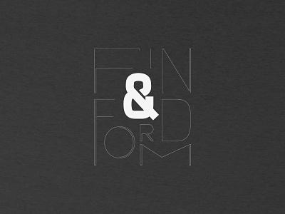 F&F Tee 2 typography t-shirt black  white concept