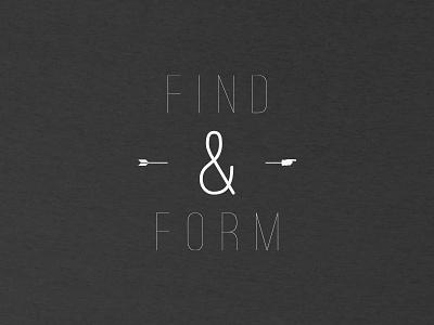F&F Tee 1 typography t-shirt black  white concept