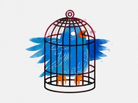 Just a Bird in a Small Cage