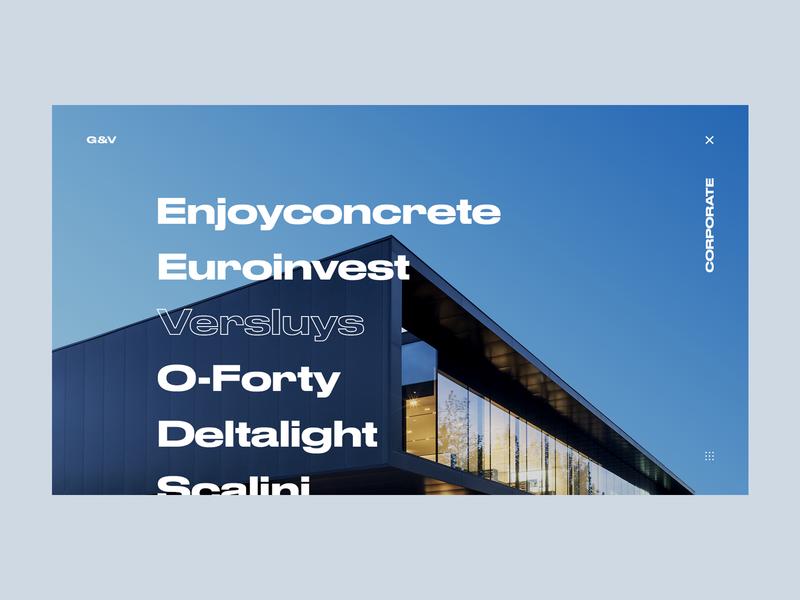 Govaert & Vanhoutte Architects #2 portfolio concrete typogaphy concept architects architechture