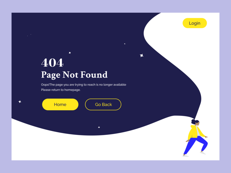 DailyUI008 - 404 Page webdesign 404page 404 error page illustration 008 dailyui ux ui design