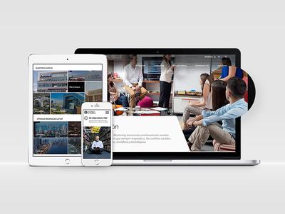 Tec Redesign tec school responsive web design