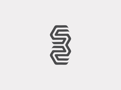 532 532 branding black logo design logotype typography icon line number monogram simple letter identity mark symbol