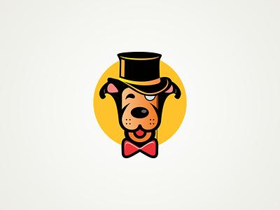 Dog Mascot design character illustraion mascot cartoon dog
