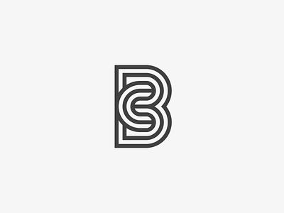 Bc identity typogaphy symbol monogram mark logotype logo line lettermark letters icon