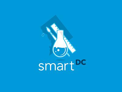 SmartDC logo concept logo