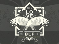 Brotherly Love Fishing Logo